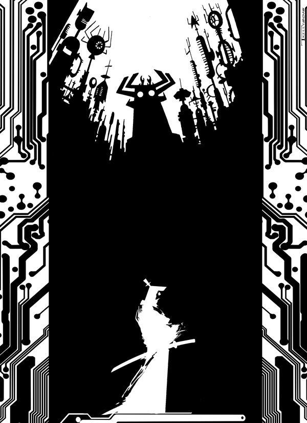 Samurai Jack time Ronin by artist Tom Kelly by TomKellyART.deviantart.com on @DeviantArt