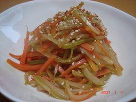 本当に美味しいセロリのきんぴら~♪ Celery Kimpira