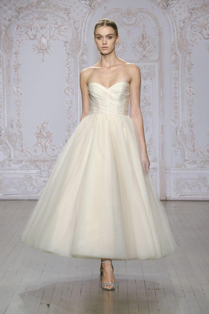608 best Tea Length Wedding Dresses images on Pinterest | Short ...