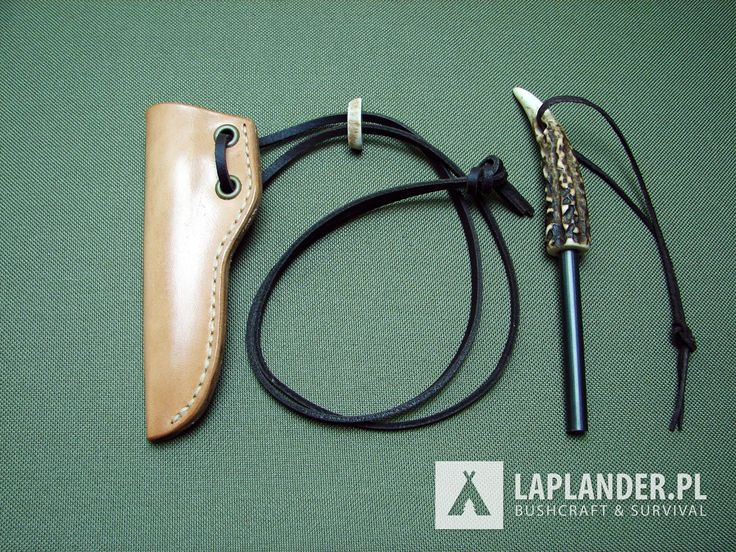 Custom firesteel. Handmade. Krzesiwo.  Bushcraft, Survival.
