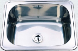 Vizzini drop in sink 56 x 46 x 24