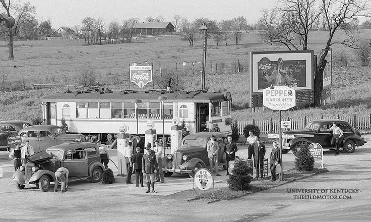 Lansing Car Dealerships >> The Earl M. Carr Pepper Gasoline Station – Lexington ...