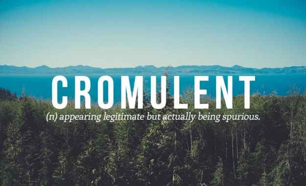 And finally, a word that embiggens the soul: