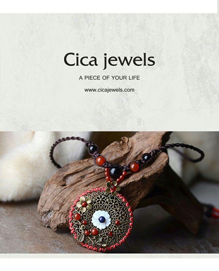 cicajewels-Cicek bahçesi vintage kolye sizler için #cicajewelry #cicekbahcesi #etnik #vintage #kolyem#yasaminicinden #hayatinrenkleri