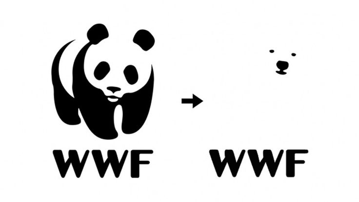 A proposal to change the WWF logo to a polar bear - Designer Daily: graphic and web design blog