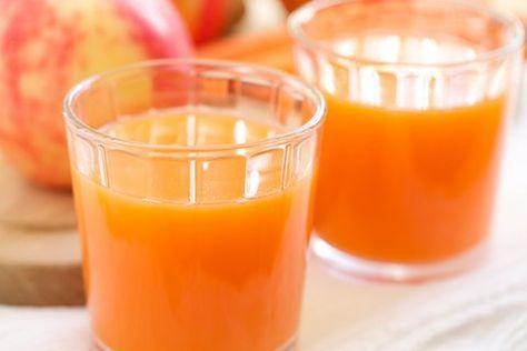 Recept Wortel, Komkommer Appelsap. Heerlijk frisse sap dat een goede vervanger is voor frisdrank of limonade. Lekker vooral koud, helpt enorm tegen de dorst en zit nog vol vitamines ook!