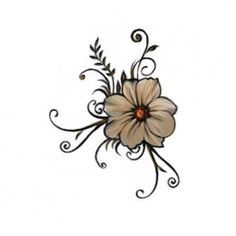 5 petal flower tattoo - Bing Images