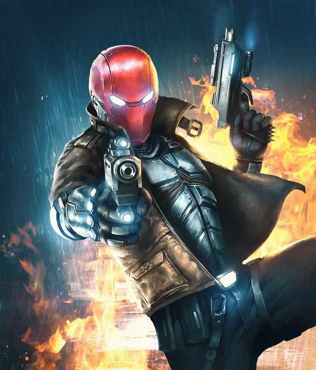 Injustice 2 Mobile Roster Red Hood Comic Red Hood Wallpaper Red Hood