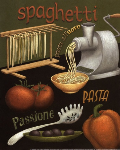 Vintage Italian Posters ~ #Italian #vintage #poster ~ Spaghetti Poster ..