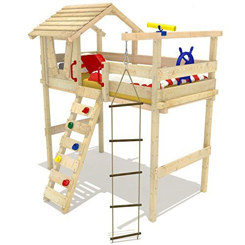 Wickeydream Letto A Castello Letto A Soppalco Letto Per Bambini Jungle Hut 90X200cm Doghe non incluse Wickeydream http://www.amazon.it/dp/B00N4ZEE2S/ref=cm_sw_r_pi_dp_ke6-wb0NSYGM8