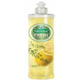 Palmolive Fresh Infusions dishwashing liquid review, in the lemon thyme scent