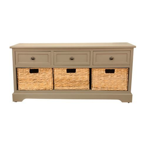 And woven banana leaf baskets bench type kitchen bench seat
