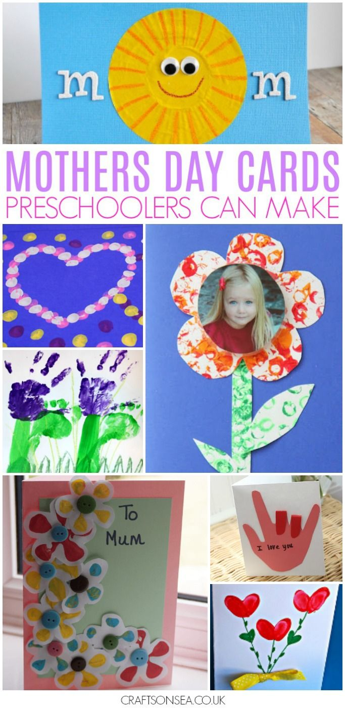mothers day cards for kids to make #mothersday #preschool #handmadecards #kidscraft #kidsactivities