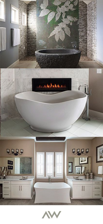 there's nothing quite like a soak in a beautiful tub to relax after