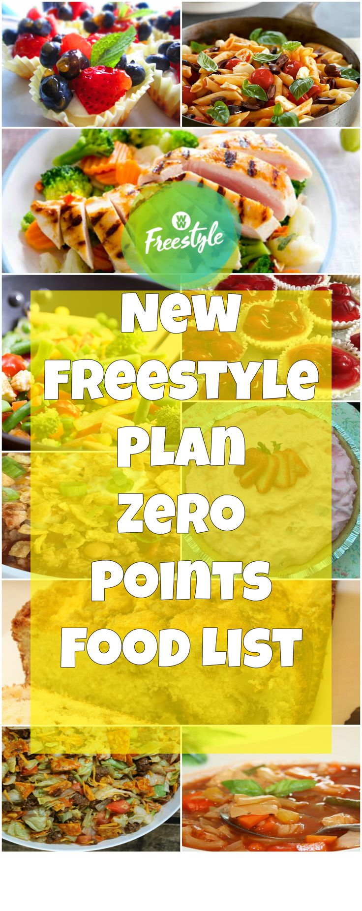 New Weight Watchers Zero Points Food List – Freestyle Plan | weight watchers recipes | Page 2