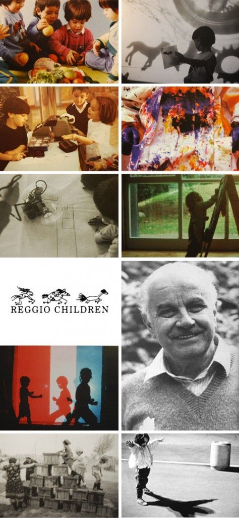 """History of the Reggio Emilia Schools. """"What children learn does not follow as an automatic result from what is taught. Rather, it is in large part due to the children's own doing as a consequence of their activities and our resources.""""Loris Malaguzzi, """"The Hundred Languages of Children"""" For more Reggio Inspired pins: http://pinterest.com/kinderooacademy/reggio-inspired/ ≈ ≈"""