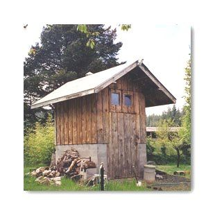 survival meat preserving part 3 building a smokehouse - Meat Smokehouse Plans