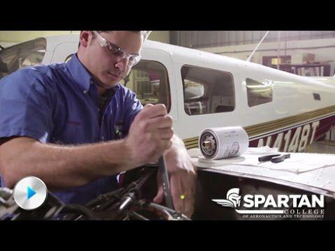 Aviation Maintenance Technology Training | Aviation Careers | Spartan Co...