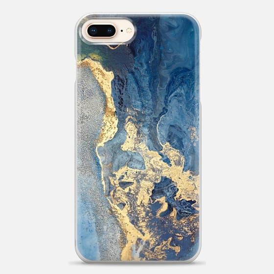 best authentic c02f9 1d7ee Casetify iPhone 8 Plus Snap Case - MARBLE PAINT | Phone cases ...