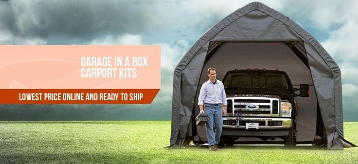 """The question """"what are portable garage shelters?"""" answered in this article. Read this before you buy!"""