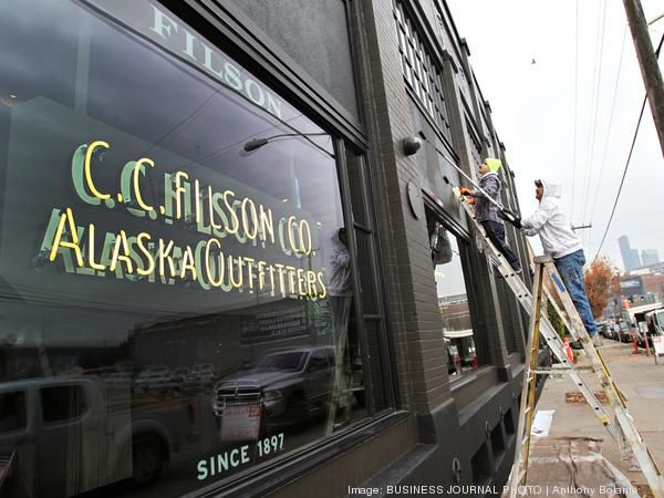 Seattle outdoor clothing store Filson has redone its flagship store in Seattle's Sodo neighborhood. Take a look around the fancy new digs.