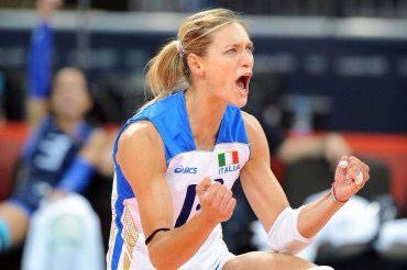 My volleyball idol #ValentinaArrighetti