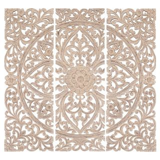 Wood Medallion Wall Decor top 25+ best carved wood wall art ideas on pinterest | thai decor