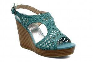 zapatillas de plataforma tejidas a crochet - Buscar con Google