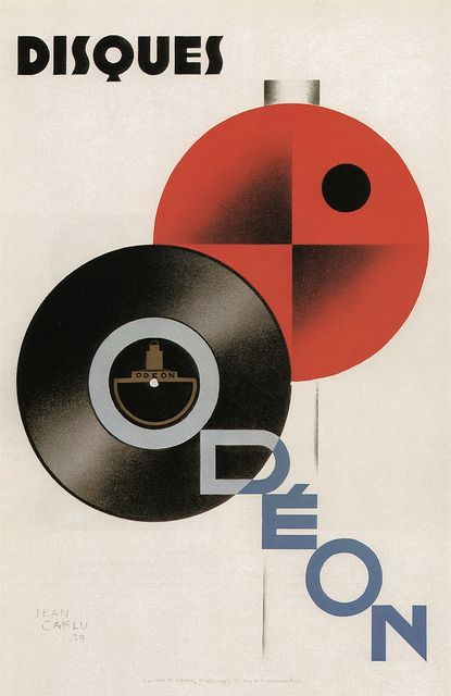 Jean Carlu, Odeon, 1929