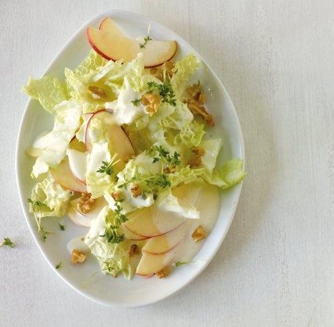 Chinakohl-Apfel-Salat - Rezepte: Sommer-Salate - 13 - [ESSEN & TRINKEN]