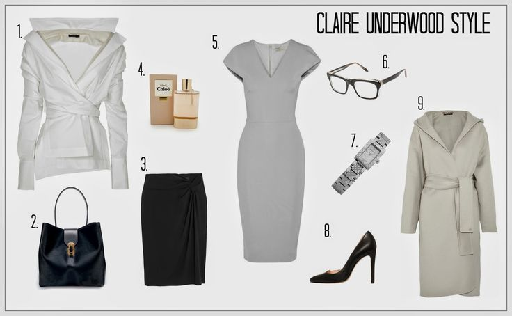 CHILEXIONS Dots & Stripes: Claire Underwood Style