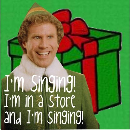 Elf Quotes Smiling: Buddy The Elf Quotes Singing. QuotesGram