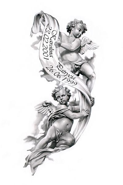 tattoo angel tattoo on back cross tattoos ink angel wing tattoos angel ...