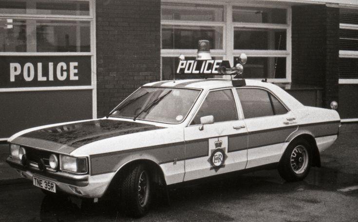 Granada Polce Car British Police Cars Manchester Police Police