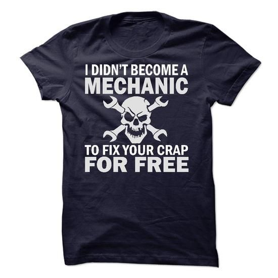 Mechanic - #gift for mom #husband gift. WANT THIS => https://www.sunfrog.com/LifeStyle/Mechanic-13996375-Guys.html?68278