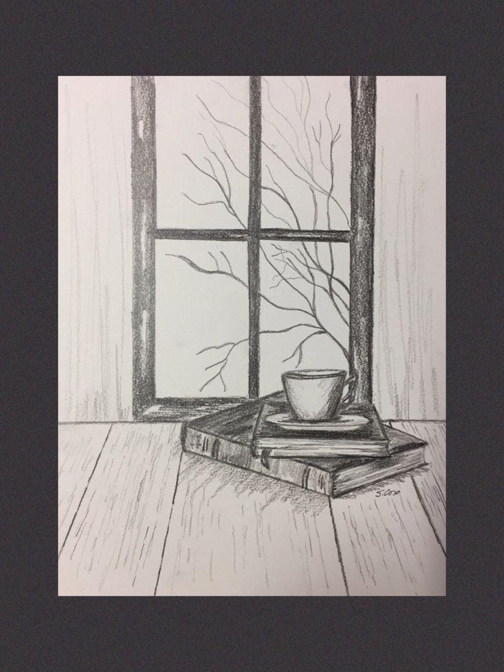 Fall still life drawing, original Ble … – #Ble #fallen #Lebenzeich …  – Kochen