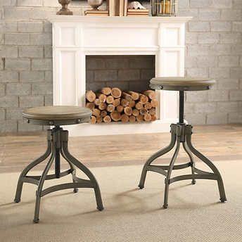 adele adjustable stool 2pack