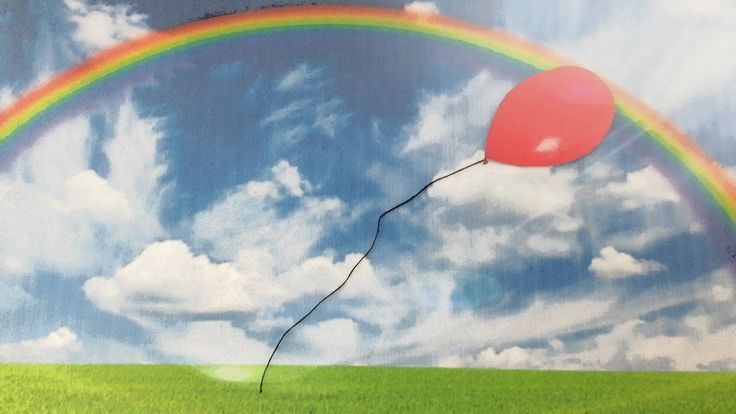le ballon et l'arc-en-ciel Chanson pour apprendre les couleurs Eléa Zalé