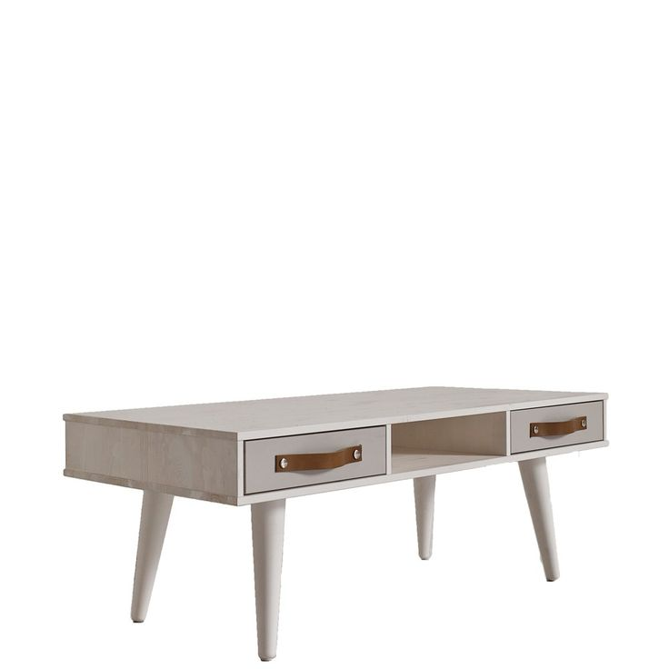 Ideal Karup Couchtisch Dance Kiefer massiv Wei Cool Gray Sch be Karup M bel online g nstig kaufen