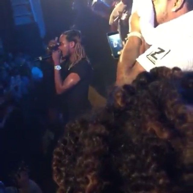 Fetty Wap & Post Malone performed on Friday at Bogart's