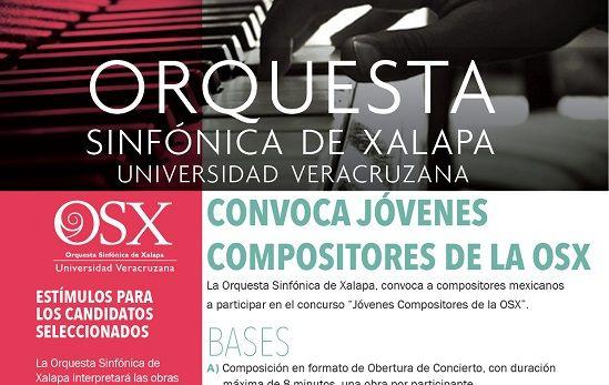 OSX abre convocatorias  para jóvenes compositores - http://www.esnoticiaveracruz.com/osx-abre-convocatorias-para-jovenes-compositores/