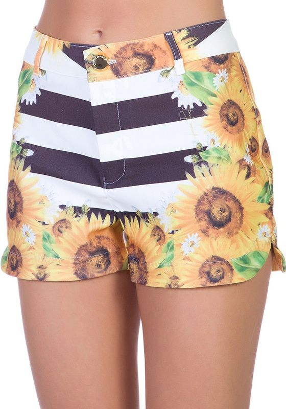 Short Alfaiataria Mix Estampas Branco PP