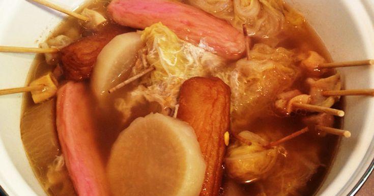 市販のおでんのスープの素は何か物足りず、、いろんなレシピを、見ながらアレンジしてみたら美味しくできました♪