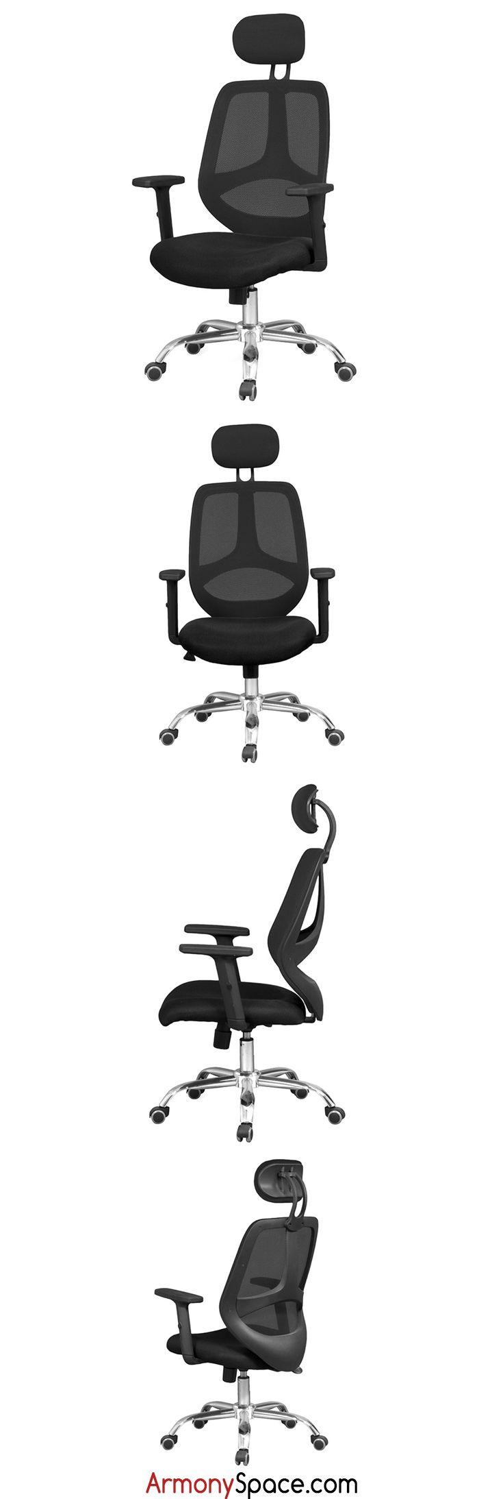 M s de 25 ideas incre bles sobre sillas de respaldo alto for Silla escritorio comoda