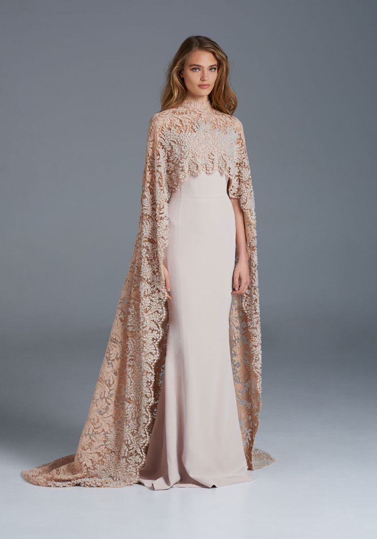 2015-16 SS Couture | Paolo Sebastian- Beautiful Cape.