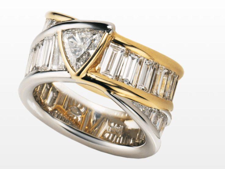 Damiani: bermude ring, Oscar of the jewelry in the 1988