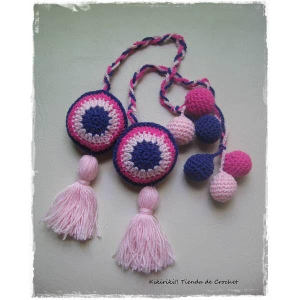 Munack te presenta una nueva opción para decorar tu casa. Ya están disponibles los Sujeta Cortinas de Crochet. Incluye 2 unidades para renovar tu espacio y comenzar a disfrutar de la calidez de cada detalle.  $85,00