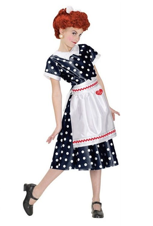 i love lucy halloween costume for child lucystorecom 2595 - I Love Lucy Halloween Costumes