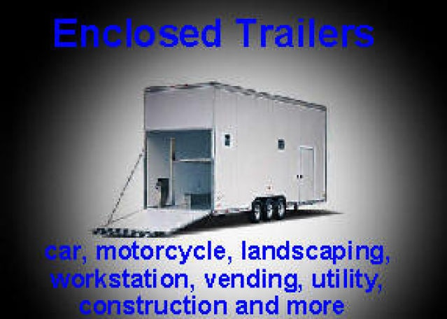 Enclosed Trailers for Sale at Pro-Line Trailers