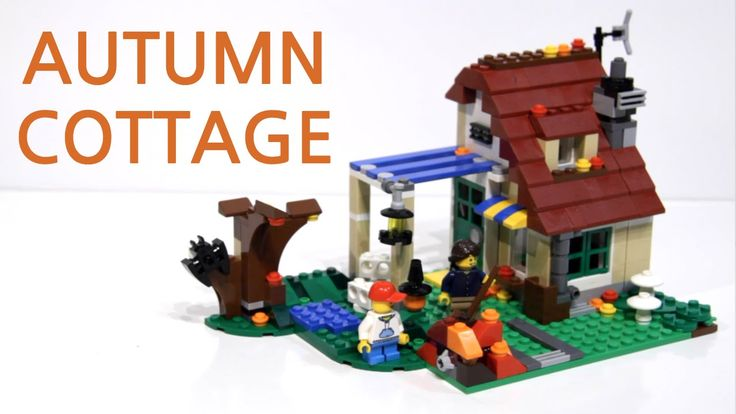 LEGO Creator Changing Seasons set: Autumn Cottage stop motion build video: https://youtu.be/O_qIH7VxzPE
